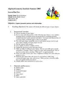 Geometric Patterns and Relationships Lesson Plan