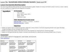 Geometrically Artistic/Artistically Geomtric Lesson Plan