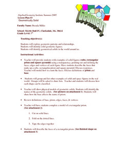 Geometrically Solid Lesson Plan