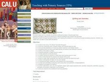 Geometry and Quilting Lesson Plan
