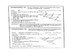 geometry basic constructions 10th grade worksheet lesson planet. Black Bedroom Furniture Sets. Home Design Ideas