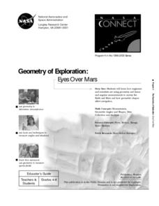 Geometry of Exploration: Eyes Over Mars Lesson Plan