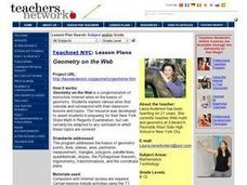 Geometry on the Web Lesson Plan