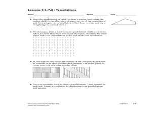 Worksheets Transformation Practice Worksheet geometry practice transformations isometries and tessellations worksheet