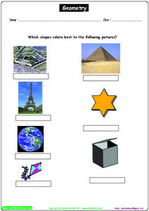 Geometry: Shapes and Pictures Worksheet