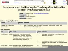 Geomnemonics: Facilitating the Teaching of Social Studies Content with Geography Skills Lesson Plan