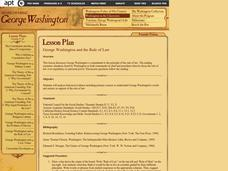 George Washington and the Rule of Law Lesson Plan