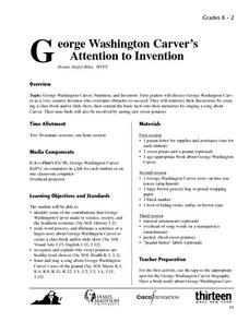 George Washington CarverâÂ¿Â¿Â¿™s Attention to Invention Lesson Plan