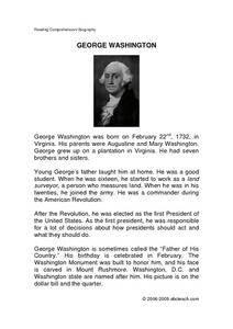 essay on george washington biography George washington biography essay - proofreading and editing services from top specialists cooperate with our scholars to receive the quality coursework following.