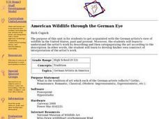 German Artists in America Lesson Plan