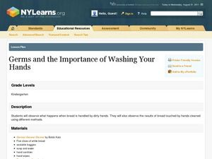 Germs and the Importance of Washing Your Hands Lesson Plan