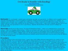 Get Ready to Rumble with Reading Lesson Plan