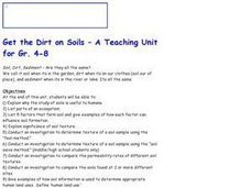Get The Dirt On Soils Lesson Plan