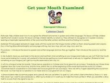 Get your Mouth Examined Lesson Plan