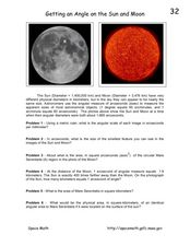 Getting an Angle on the Sun and Moon Worksheet
