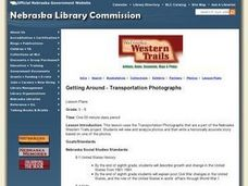 Getting Around - Transportation Photographs Lesson Plan
