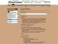 Getting Lost Lesson Plan
