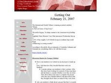 Getting Out Lesson Plan