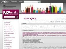 Giant Mystery Lesson Plan