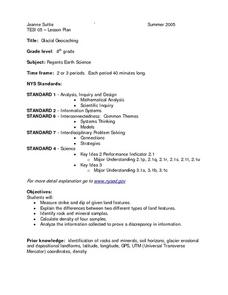Glacial Geocaching Lesson Plan