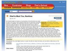 Glad to Meet You, Newfane Lesson Plan