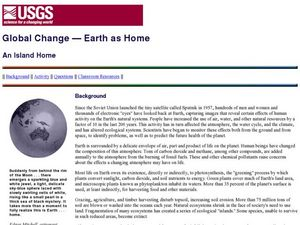 Global Change- Earth as Home Lesson Plan