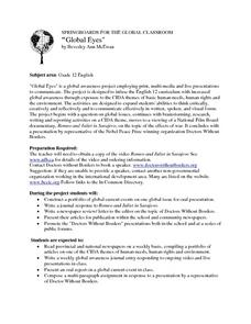 Global Eyes Lesson Plan