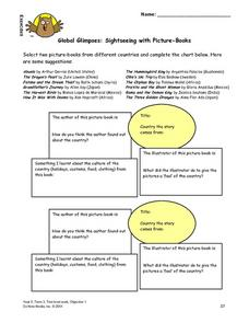Global Glimpses Lesson Plan
