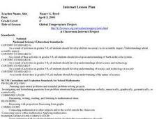 Global Temperature Project Lesson Plan