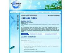 Global Water Lesson Plan
