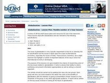 Globalization - Lesson Plan: Flexible Number of 1 Hour Lessons Lesson Plan