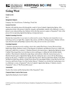 Going West Lesson Plan