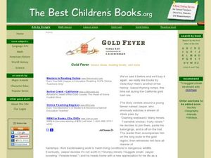 Gold Fever Lesson Plan