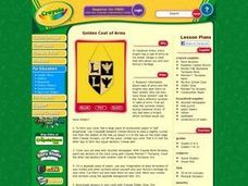 Golden Coat of Arms Lesson Plan