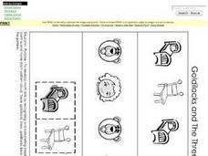 math worksheet : goldilocks and the three bears pattern activity kindergarten  1st  : Goldilocks And The Three Bears Worksheets Kindergarten