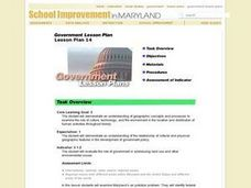 Government Lesson Plan - Number 14 Lesson Plan