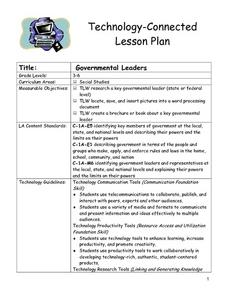 Governmental Leaders Lesson Plan