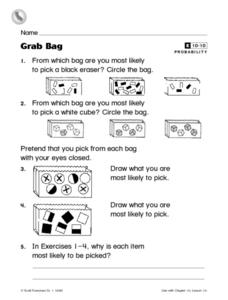 Grab Bag Worksheet