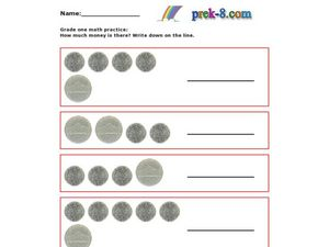 Grade 1 Math Practice Worksheet