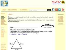 Grade 5 Geometry Worksheet