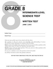 Worksheet Eighth Grade Science Worksheets grade 8 science test new york state university 8th worksheet