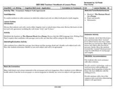 Grammar- Subject-Verb Agreement Lesson Plan
