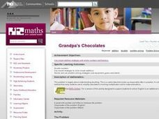 Grandpa's Chocolates Lesson Plan