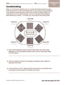 Grandstanding: Enrichment Worksheet