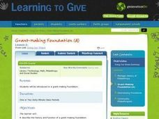 Grant-Making Foundation (A) Lesson Plan