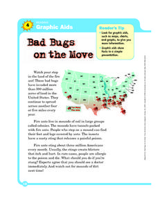 Graphic Aids: Bad Bugs on the Move Worksheet