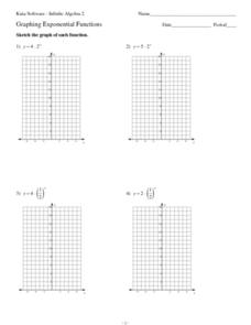 Graphing Exponential And Logarithmic Functions Worksheet - Worksheets