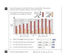 Graphing Information from a Data Table Worksheet