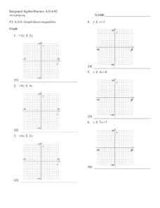 inequality worksheets for 6th graders algebra worksheets and 1 on pinterestsolving inequality. Black Bedroom Furniture Sets. Home Design Ideas