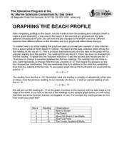 Graphing the Beach Profile Lesson Plan